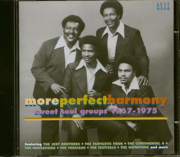 More Perfect Harmonies - Sweet Soul Groups 1967-1975 (CD)