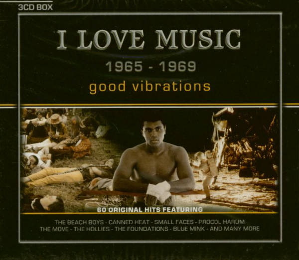 Good Vibrations - I Love Music 1965-1969 (3-CD)