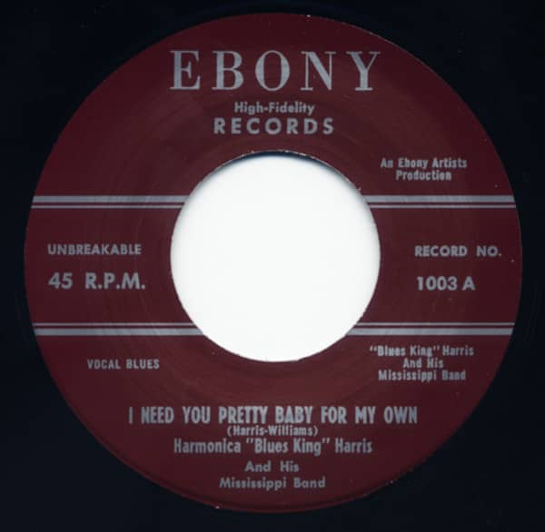 I Need You Pretty ... - Blues King Mambo 7inch, 45rpm