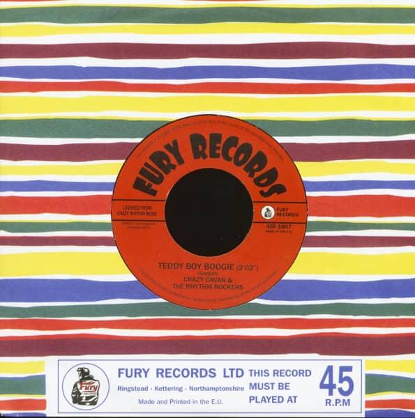 Teddy Boy Boogie - Teddy Boy Rock'n'Roll (7inch, 45rpm)