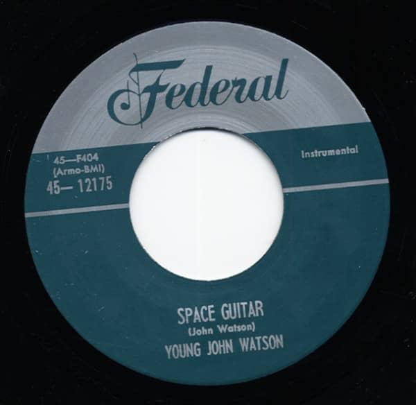 Space Guitar b-w Ground Hog Snooper 7inch, 45rpm