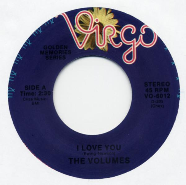 I Love You b-w Dreams 7inch, 45rpm