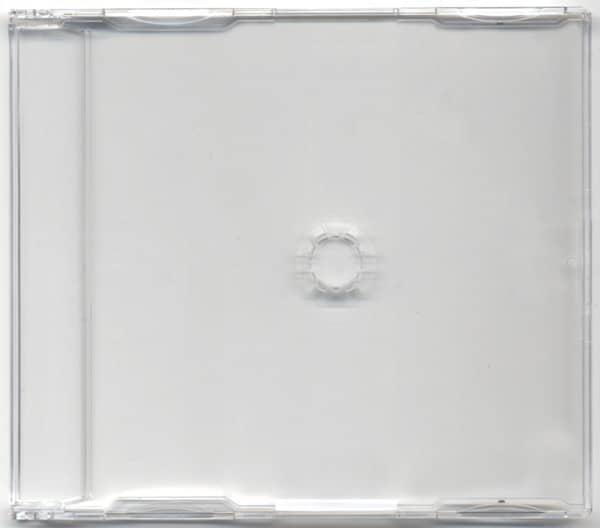 CD singlebox clear for 1-CD