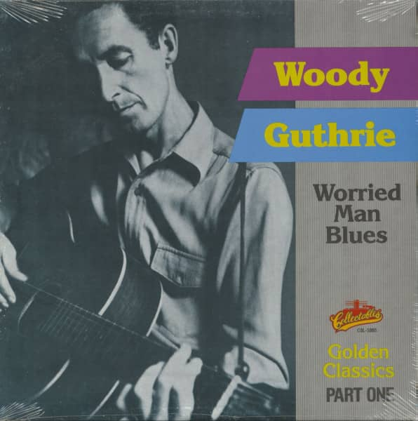 Worried Man Blues - Golden Classics Vol.1 (LP)