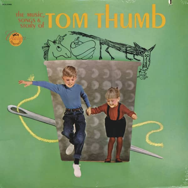 The Music, Songs & Story Of Tom Thumb - Soundtrack (LP, Cut-Out)