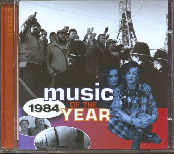 Music Of The Year - 1984 (CD)