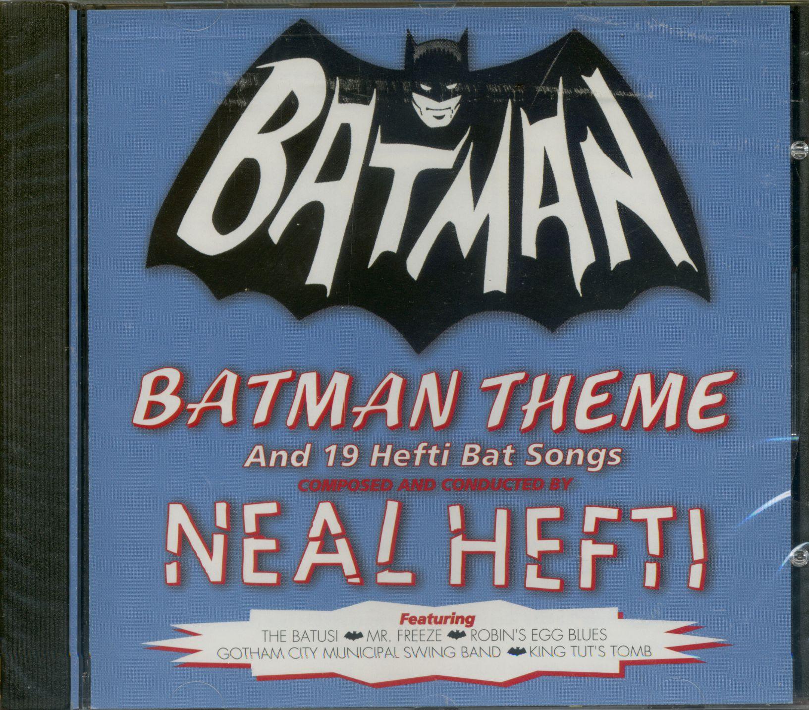 Neal Hefti Amp His Orchestra Cd Batman Theme And 21 Hefti