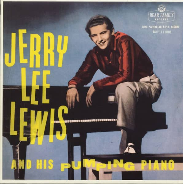 Jerry Lee Lewis And His Pumping Piano (LP, 10inch, Ltd.)
