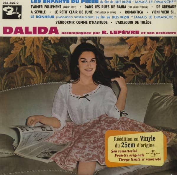 Accompagnee Par Raymond Lefevre Orchestre Et Son Orchestra (1960) 25cm LP Limited Edition