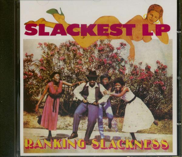 Slackest LP (CD)