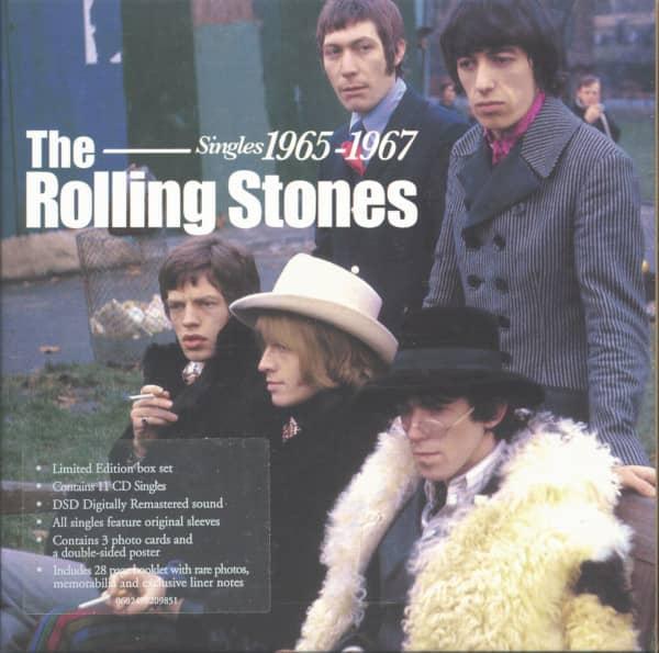 Singles 1965-1967 (11-CD Singles, Ltd.)