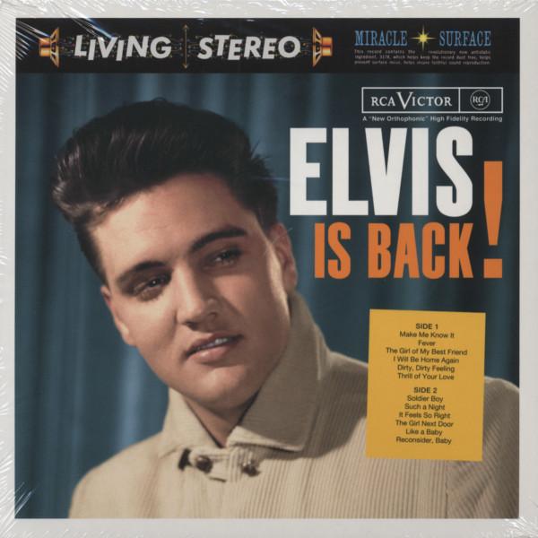 Elvis Is Back...plus 2-CD 7inch Digipac