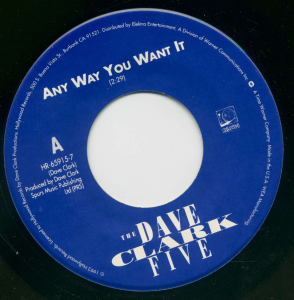Any Way You Want It - Come Home (7inch Single, BC)