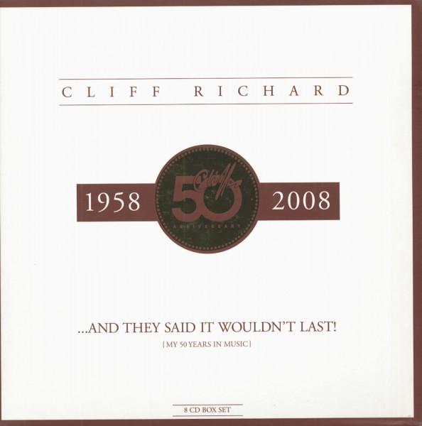 Cliff's 50th Anniversary (8-CD & a 10')