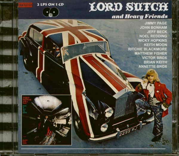 Lord Sutch And Heavy Friends & Hands Of Jack The Ripper (CD)