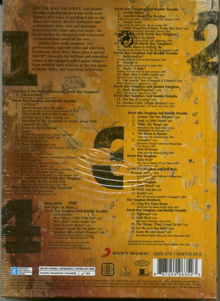 S.R.V. (3-CD & 1-DVD )