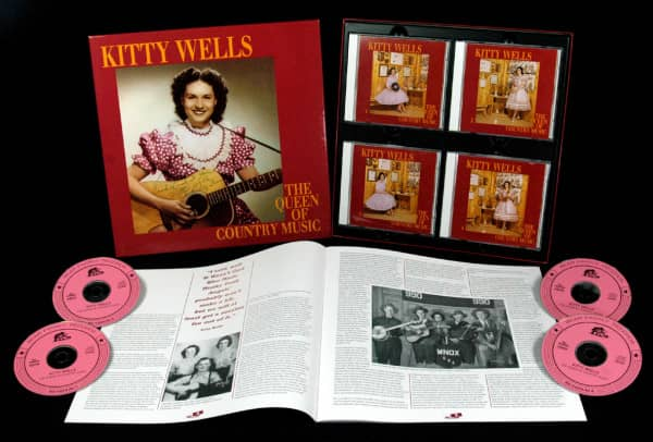 Queen Of Country Music 1949-1958 (4-CD)