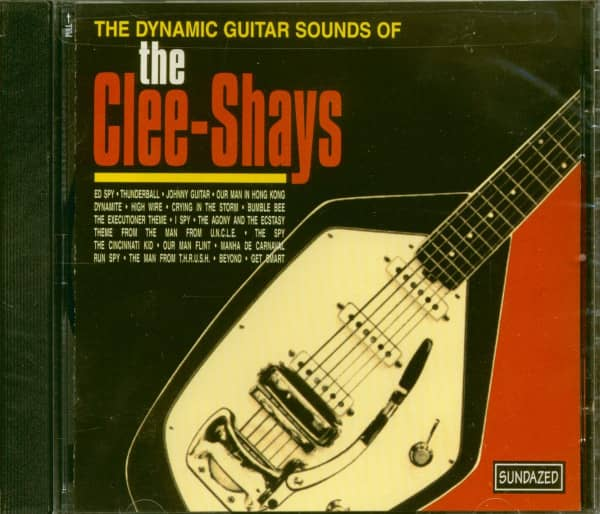 The Clee-Shays CD: The Dynamic Guitar Sounds Of The Clee