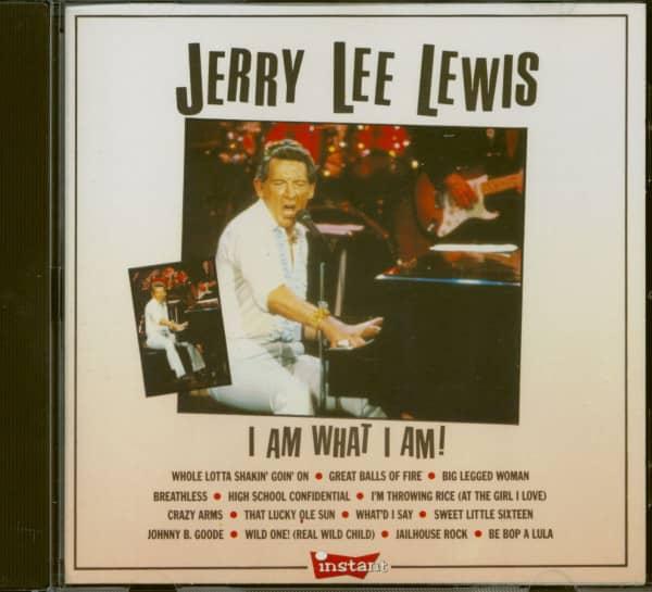 I Am What I Am (CD)