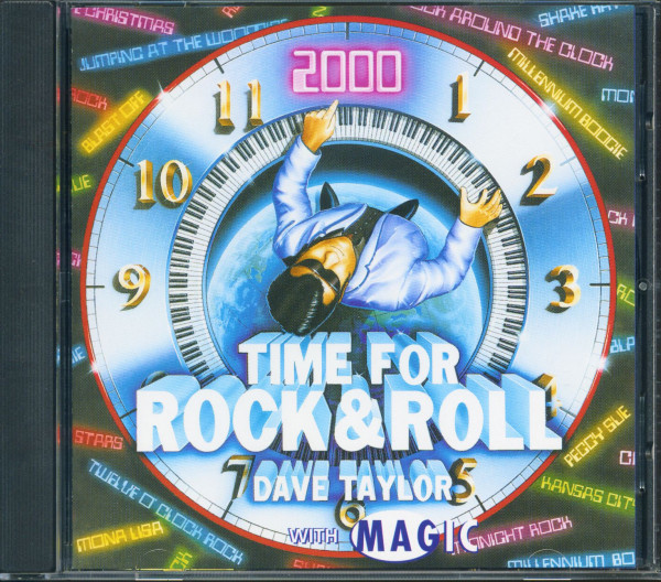 Time For Rock'n'Roll With Magic (CD)
