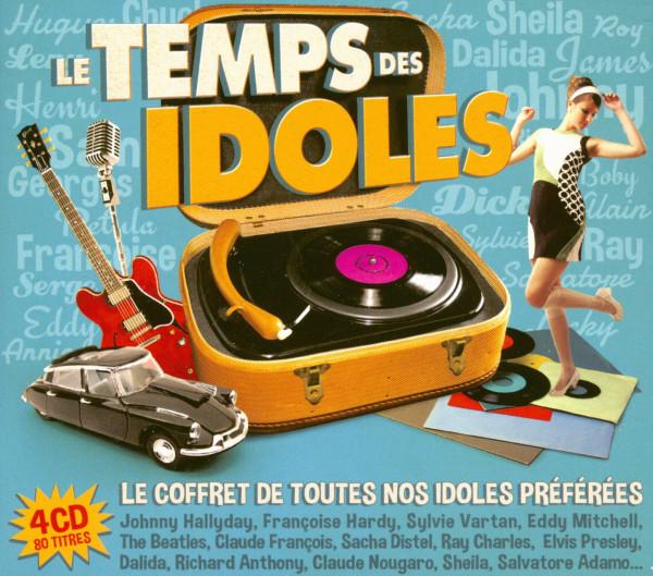 Le Temps Des Idoles (4-CD)