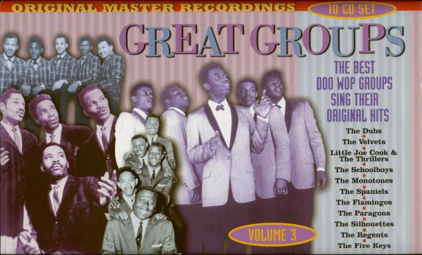 Great Groups Vol.3 (10-CD, Box Set)
