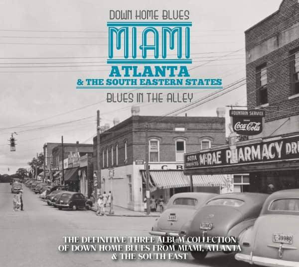 Down Home Blues Miami, Atlanta & The South East States (3-CD)