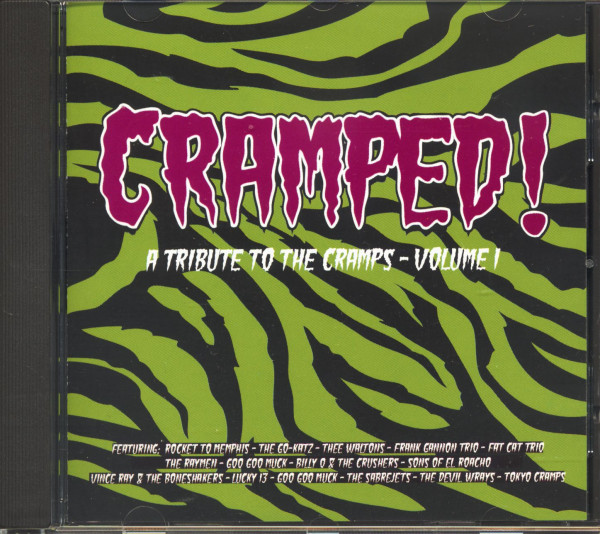 Cramped! - A Tribute To The Cramps Vol.1 (CD)