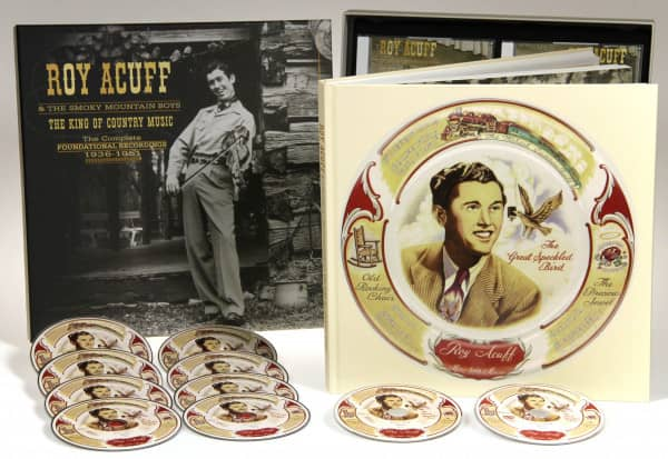 Roy Acuff & The Smoky Mountain Boys The King Of Country Music, The  Foundational Recordings Complete 1936-51 (9-CD & 1-DVD)