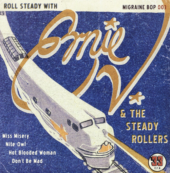 Ernie V. And The Steady Rollers 7inch, 45rpm, EP, PS