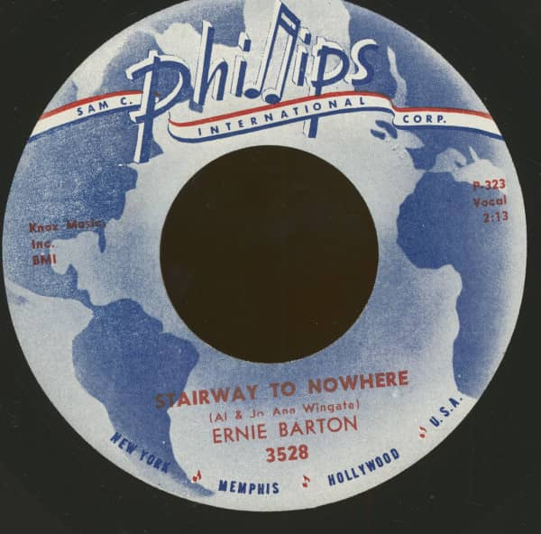 Stairway To Nowhere - Raining The Blues (7inch, 45rpm)