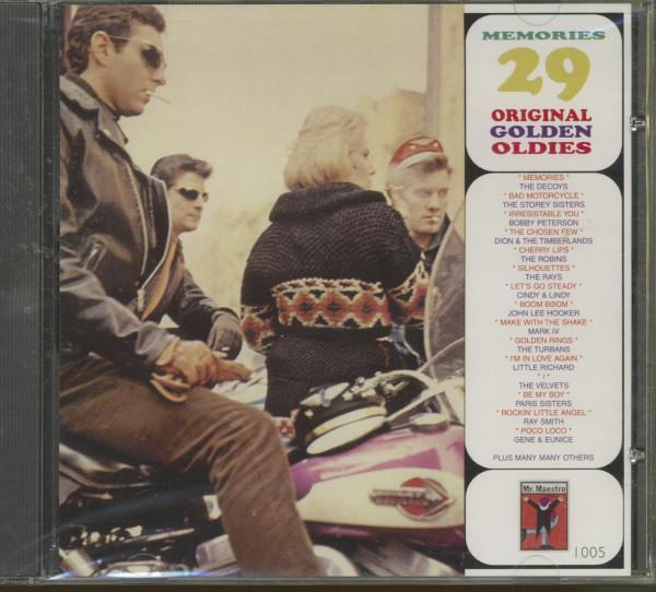 Memories - 29 Original Golden Oldies (CD)