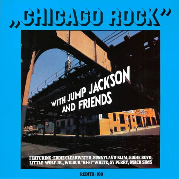 Chicago Rock With Jump Jackson And Friends (LP)