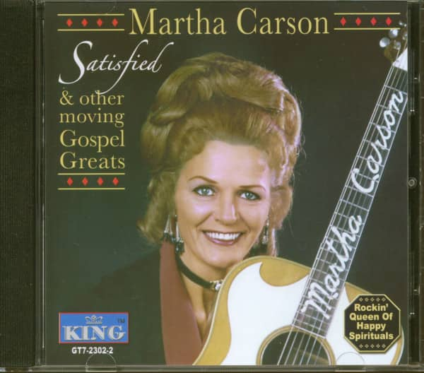 Satisfied & Other Moving Gospel Greats (CD)