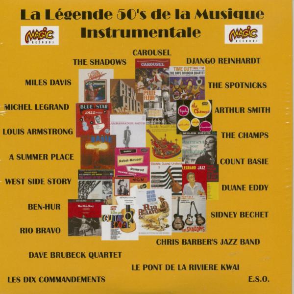 La Legende 50's de la Musiqueinstrumental