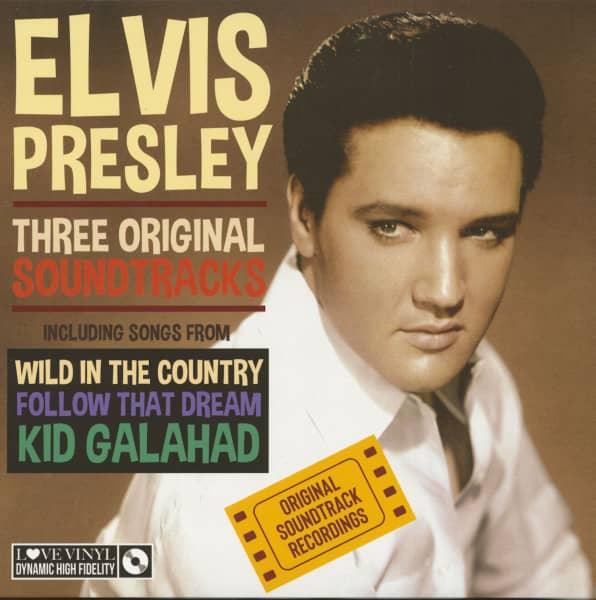 Three Original Soundtracks (LP, 180g Vinyl)