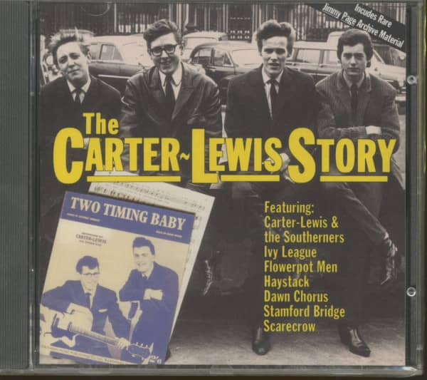 The Carter-Lewis Story (CD)