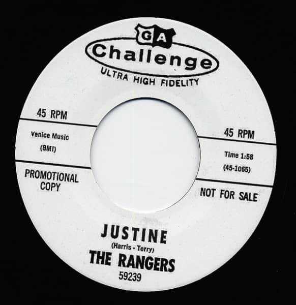 Justine - Reputation 7inch, 45rpm