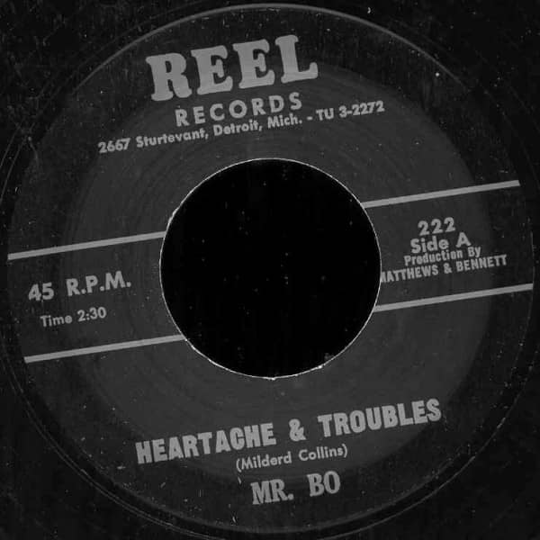 Heartache & Troubles - Inter Santum 7inch, 45rpm