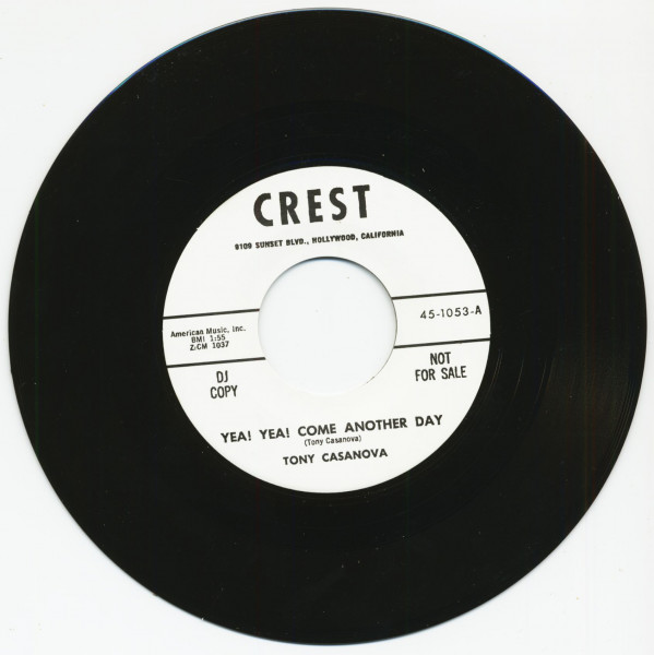 Yea! Yea! Come Another Day - The Grave (7inch, 45rpm)