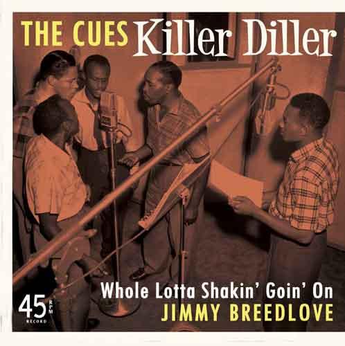 Killer Diller b-w Whole Lotta Shakin' Goin' On 7inch, 45rpm, PS