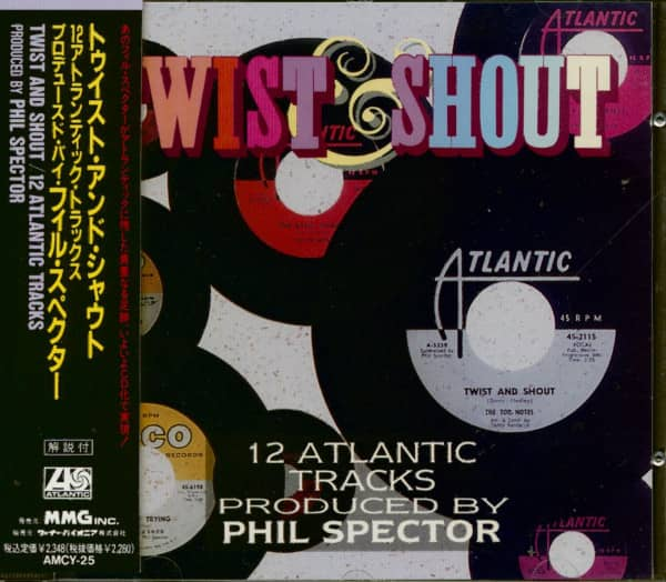 Twist & Shout - 12 Atlantic Tracks Produced By Phil Spector (CD Japan)