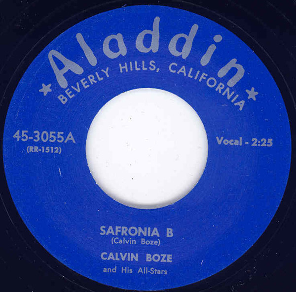 Safronia B - But Officer 7inch, 45rpm