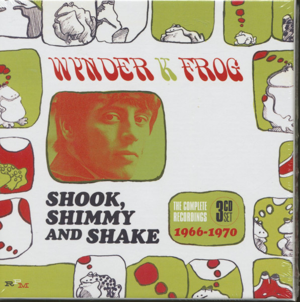 Shook, Shimmy And Shake - The Complete Recordings 1966-70 (3-CD)