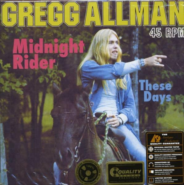 Midnight Rider - These Days (LP)