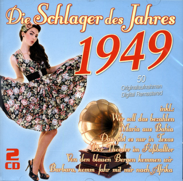 Die Schlager des Jahres 1949 (2-CD)