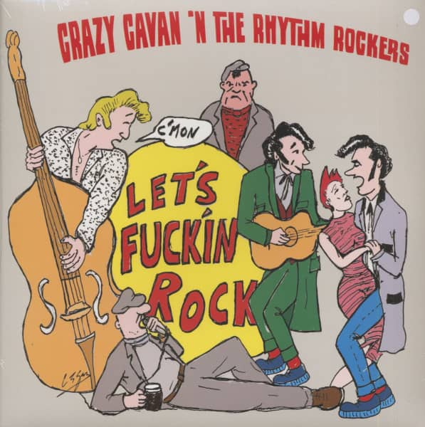 Let's F***in Rock (LP, White Vinyl, Ltd.)