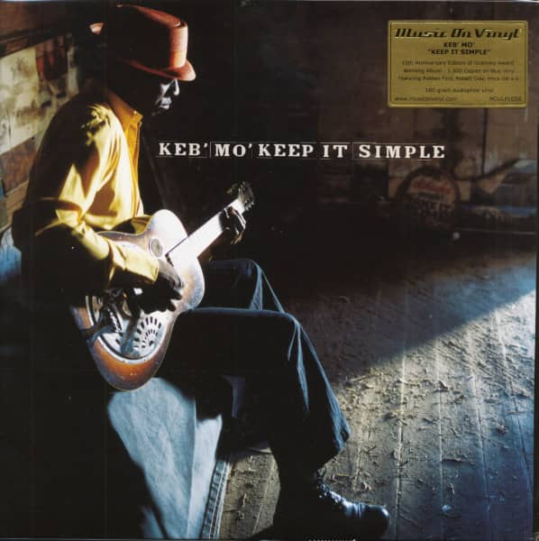 Keep It Simple (LP, 180g, Translucent Blue Vinyl, Limited-Numbered-Edition)