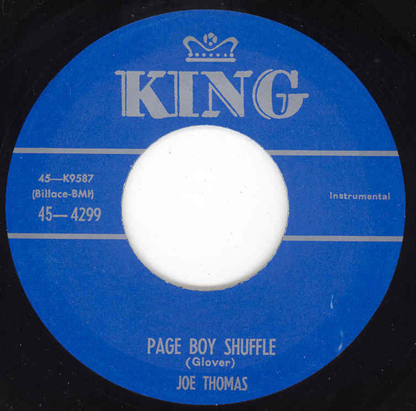 Page Boy Shuffle - Raw Meat 7inch, 45rpm