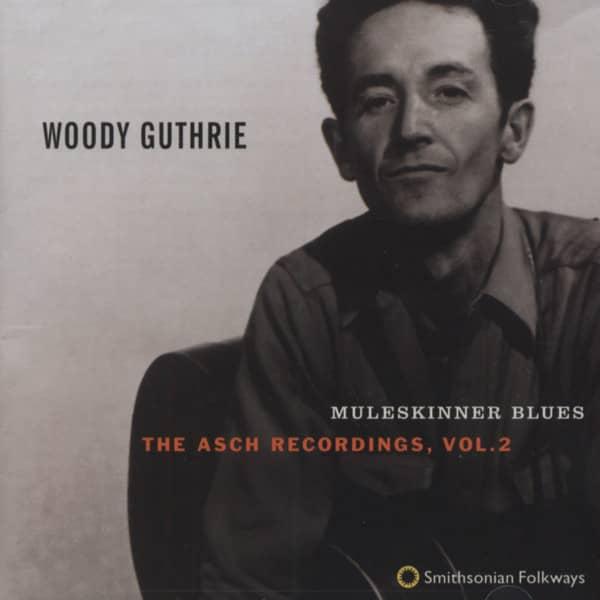 Muleskinner Blues - The Asch Recordings Vol.2